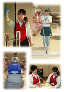 可愛いユニフォーム姿でそれまでの清掃のイメージを払拭、徹底したマナー教... みらいジャパン